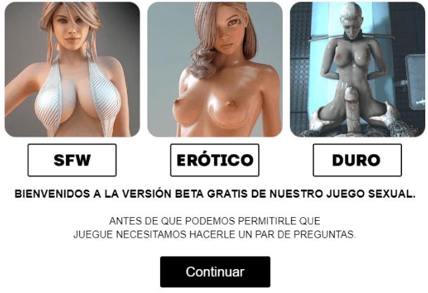 Selección de aventura West Sluts: SFW, Erótico o Duro