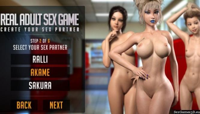 Ralli, Akame y Sakura, las protagonistas de Real Adult Sex Games