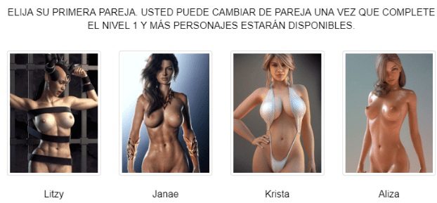Se muestran las elecciones de las chicas de West Sluts / juegos porno