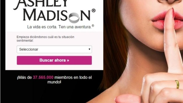 Ashley Madison, páginas para follar con otras parejas