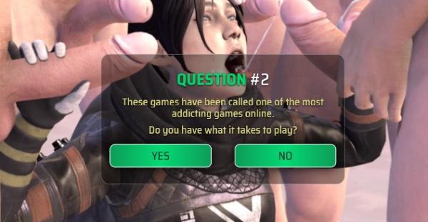Apexxx Legends, el juego porno Apex Legends